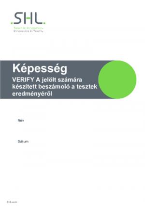 Verify - Jelölteknek adható jelentés