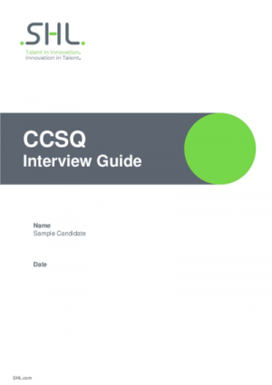 CCSQ Interview Guide std v2.0 English International