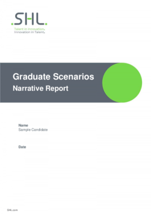 Graduate Scenarios Narrative Report Std v2.0 English International
