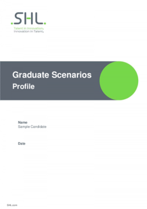 Graduate Scenarios Profile Std v2.0 English International