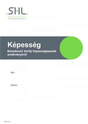 Verify - Verbális jelentés (Supervisory)