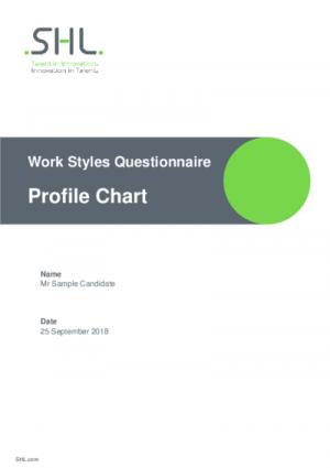 WSQ Profile Std v2.0 English International