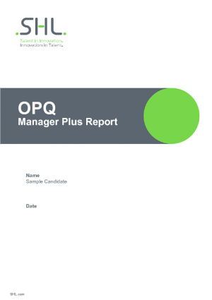 Manager Plus Report