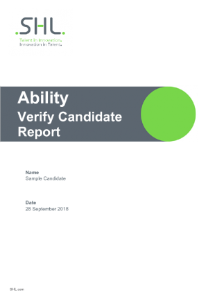verify candidate report_english