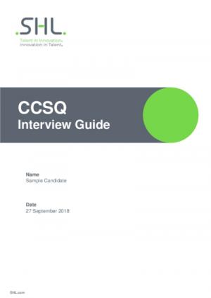 CCSQ Interview Guide Std v2.0 English International