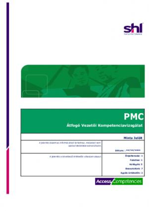 PMC Átfogó Vezetői Kompetencia vizsgálat mintajelentés
